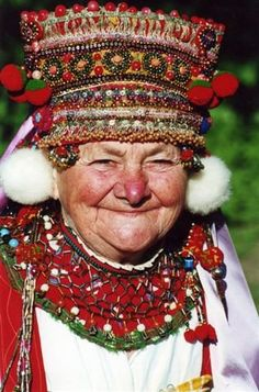 народный костюм из орловской губернии