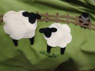 Things that made me happy! Wool Blanket, Embroidery Applique, Make Me Happy, Fleece Knot Blanket