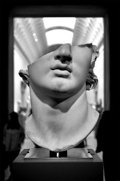 Fragmentary colossal head of a youth, from The Metropolitan Museum of Art