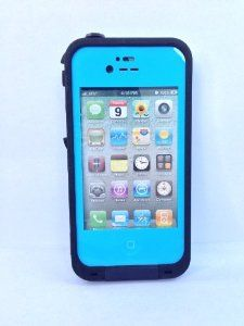 Light blue life proof case for my iPhone