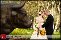 #Wedding portraits outside the #USF Marshall Student Center.