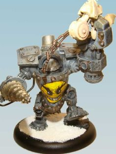 Searforge (Rhulic) Ghordson Driller Heavy Warjack for Warmachine