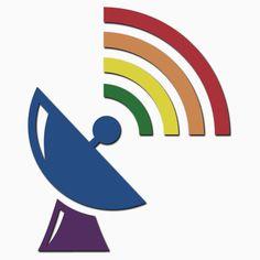 Rainbow Gaydar Gay Pride Flag Colors