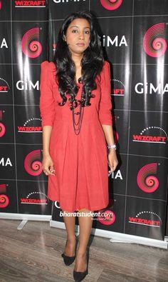 GiMA 2012 Singer Nominees Press Conference, Shilpa Rao, Harshdeep Kaur, Shefali Alvares, Aditi Singh, Nandini Srikar, GiMA 2012, GiMA