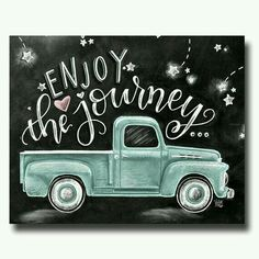 Enjoy the journey...without the truck
