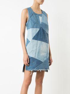 Prps patchwork denim dress