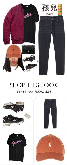 """""""J I Y O O N (4 M I N U T E ) – T H I S A I N`T M E (F E A T. B T O B I L H O O N)"""" by alicehite ❤ liked on Polyvore featuring Reebok, Monki and Chanel"""