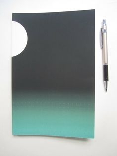 Jade Ombre bullet journal by Leora Lutz for glossary syndicate. A notebook is a trusted friend to carry at all times, or to wake up to.tell it all your secrets. Grid Notebook, Journal Notebook, Journal Art, Journal Ideas, Journals, Black Bullet, Waxing Poetic, Diy Canvas Art, Learn To Paint