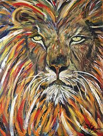 Gallery from Beyond the Veil Rev 5:5 Lion of Judah