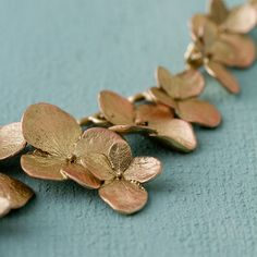 Michael Michaud Hydrangea Petals Necklace