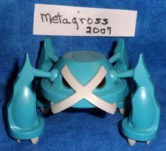 Nintendo Pokemon Electronic METAGROSS Mega Action Figure JAKKS PVC  2007 E7 #Nintendo