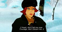Anastasia -- One of the best non-Disney animated films ever - this movie was my childhood
