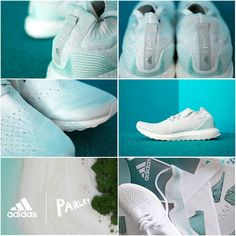 630a4fecd08c 2018 Discount 2017 UK Trainers Parley x adidas Ultra Boost Uncaged White  blanc FTW Clear Grey Tiffany Blue Youth Big Boys Sneakers