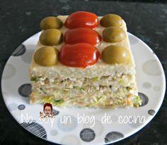 No soy un blog de cocina: PASTEL DE PAN DE MOLDE Relleno, Eggs, Breakfast, Blog, Salads, Beverage, Daughters, Cooking Recipes, Pies