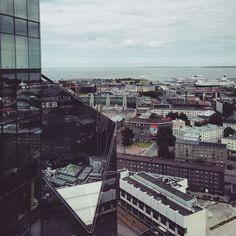 old and new Tallinn