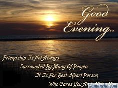 Good Evening status for facebook