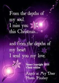 God the holiday are going to be so hard without your light Brother. It is going to be the saddest Christmas since Dad died....I don't know how I am going to do it...
