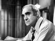 "ABE VIGODA • (Feb 24, 1921 - Jan 26, 2016) The leathery, sunken-eyed face of this CHARACTER ACTOR made him ideal for playing an over-the-hill detective in the 1970s TV comedy ""Barney Miller,"" and - on the opposite side of the law - the doomed Mafia soldier Sal Tessio in ""The Godfather."""