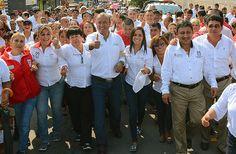Marcha del Triunfo en Altamira, ¡Gracias, vamos por el 7 en las próximas elecciones!