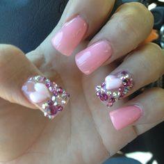 Nail bling !!