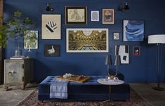 A gallery wall is a great way to take focus away from your tv
