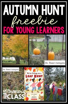 FREE Fall Outdoor Scavenger Hunt for Kids