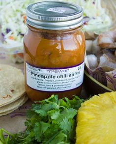 Add a tropical flavour to your meals with McEwan's Own Pineapple Chili Salsa!