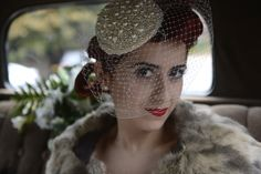 A fantastic retro wedding with the stunning Nadine.  Photography by Eye Imagine