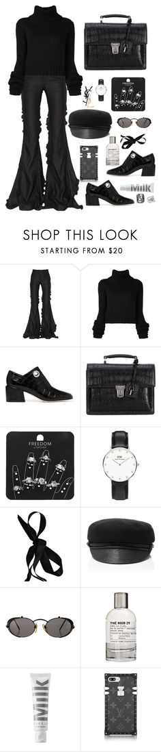 """""""xoxo"""" by millicent4 ❤ liked on Polyvore featuring Marco de Vincenzo, IO Ivana Omazić, TIBI, Yves Saint Laurent, Topshop, Marni, Eugenia Kim, Jean-Paul Gaultier, Le Labo and MILK MAKEUP"""