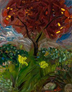 Amazing Garden 2o3: Jonathan Herbert: Oil Painting - Artful Home