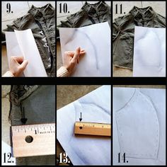 Make your own sewing patterns--if I ever get around to making my own clothes