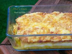 PASTEL DE POLLO Cooking With Kids, Creative Food, Tapas, Macaroni And Cheese, Chicken Recipes, Easy Meals, Food And Drink, Favorite Recipes, Yummy Food