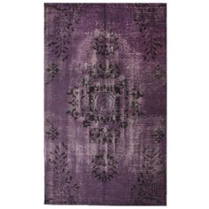 Woven with pure wool, these fine rugs are hand-knotted with the most up to date colors for today's fashion forward interiors. Today $1,132.99  Primary mater...