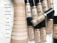 too faced born this way super coverage concealer golden beige Born This Way Concealer, Makeup Over 50, Foundation Dupes, Too Faced Concealer, Makeup Swatches, How To Apply Makeup, Makeup Tools, Makeup Tutorials, Makeup Collection