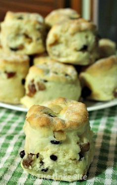 Fruit Scone Recipe. These are the easiest fruit scones that you will ever make!  thelinkssite.com
