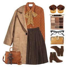 """""""Vintage Vibes"""" by doga1 on Polyvore featuring Gucci, Guy Laroche, J.Crew, HOBO, Retrò, Stila and vintage"""