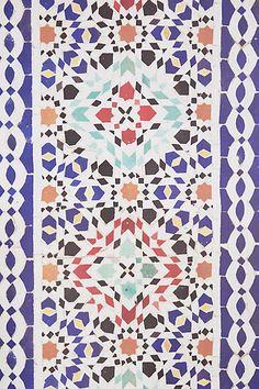 Passageway Mosaic Wallpaper - anthropologie.com