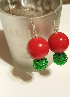 Christmas Earrings,  perfect for your holiday parties