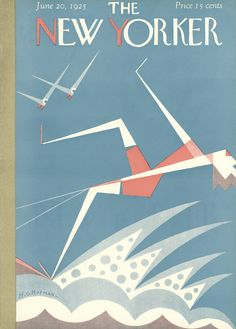 The New Yorker - Saturday, June 20, 1925 - Issue # 18 - Vol. 1 - N° 18 - Cover by : H.O. Hofman