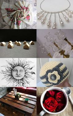 Gray and Red by Laura P. on Etsy--Pinned with TreasuryPin.com