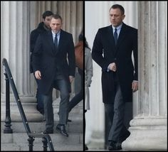 Daniel Craig as James Bond wears Tom Ford for Skyfall