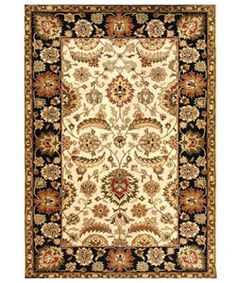 @Overstock - Update your home or office decor with this hand-tufted rug Floor rug is crafted of a 100-percent New Zealand wool pile Area rug features a Persian design with an ivory backgroundhttp://www.overstock.com/Home-Garden/Hand-tufted-Ivory-black-Wool-Rug-8-x-106/2487294/product.html?CID=214117 $338.99