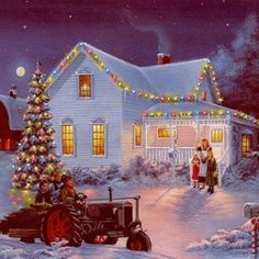 Christmas at the farm...