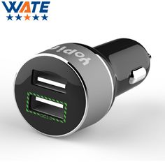>> Click to Buy << WATE Car Charger 2.4A 2USB Output DC 12-24V for Mobile Phone Charger Fast Charge Phone Travel Adapter for Cigar Lighter #Affiliate