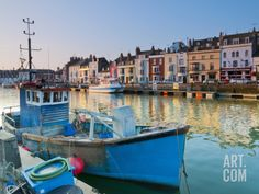 UK, Dorset, Jurassic Coast, Weymouth, Custom House Quay Photographic Print by Alan Copson at Art.com