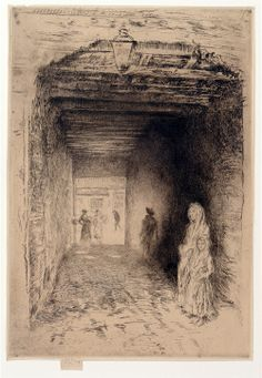 Beggars by James Abbott McNeill Whistler