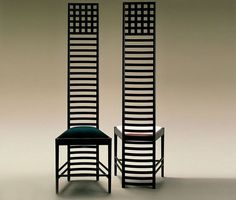 The Hill House chair - Charles R Makintosh