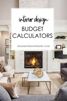 Are you decorating your home? If you're wondering about how much to budget for your living room, dining room or bedroom project, check out these budget calculatorz.