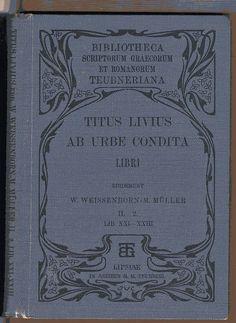 ci. Boekband cover Bucheinband Johann Vincenz Cissarz 1873 - 1942 Deutsch W.Weissenborn M.Müller Titus Livius Ab Urbe Condita Uitg. B.G. Teubner Leipzig. 1905