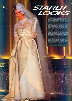 Wedding Gowns, Wedding Day, Old Dresses, Vintage Weddings, Brides, Glamour, Ads, Magazine, Modern